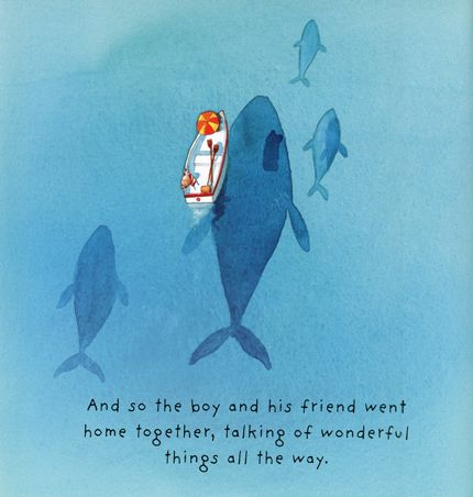 To me, this is one of the single most beautiful images I've ever seen. From Lost and Found by Oliver Jeffers. #hermoso