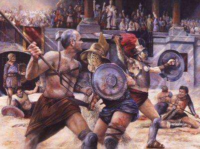 Ancient Rome Art | Gladiator. Ancient Roman Art.