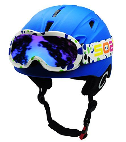 BeBefun Helmet performance technologies in a super lightweight,we live by one simple belif :Keep the safe, keep the moving. Helmet Size: • The BeBeFun kids ski goggles is sized as S 49 – 54cm athe M is 53-57cm. As our experience,S target for 3-7 year and M target for 8-15 year . • How to me...