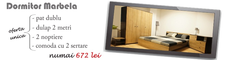 Dormitor Marbela la reducere!  http://www.kalithea.ro/mobila-dormitor/81-dormitor-marbela.html