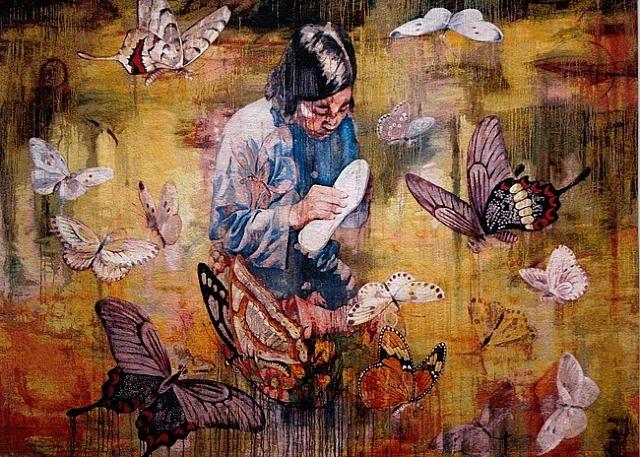 Hung Liu, Madame Shoemaker