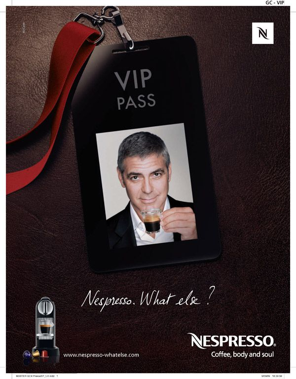 George clooney nespresso advertising pinterest nespresso and george clo - Georges clooney what else ...
