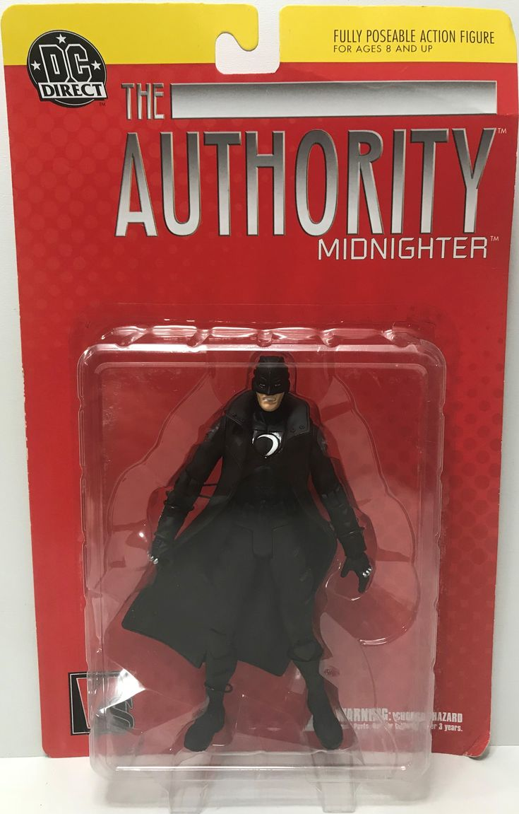 The Angry Spider Has All Of The Toys You Want For Your Collection: TAS038757 - DC Di...  Check it out here! http://theangryspider.com/products/tas038757-dc-direct-action-figure-the-authority-midnighter?utm_campaign=social_autopilot&utm_source=pin&utm_medium=pin