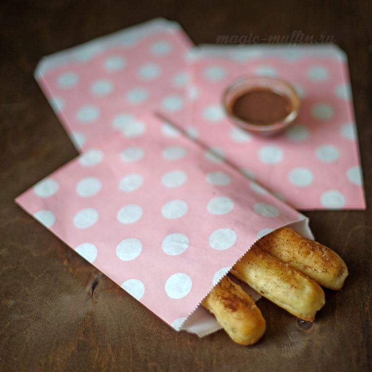 Бумажный пакетик: розовый в горох cookies wrapping, cookies bag, cookies box
