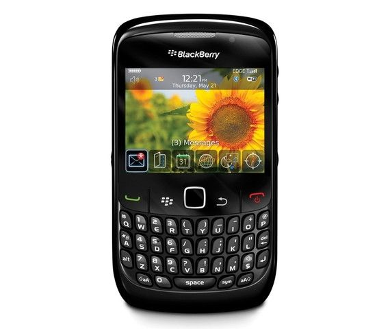 The BlackBerry Curve 8520 smartphone neatly fits in your hand. A full QWERTY keyboard makes typing and sending messages easy, and comfortable. The bright screen displays over 65,000 colors, providing