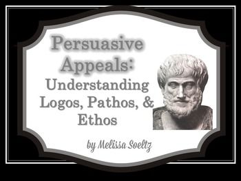 This PowerPoint explains the difference between the rhetorical devices logos, pathos, and ethos for use in an persuasive unit.  Examples of each type of appeal are provided, using the controversial topic of school uniforms.  You might also be interested in the following resources from my store:  Most Dangerous Game Short Story Unit  Response to Literature Essay Unit  Parenthetical Citation and Quote Integration