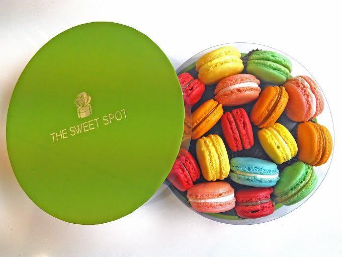 #handmade #macarons #love #colorful #greek www.thesweetspot.gr