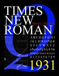 Resultado de imagen de times new roman poster