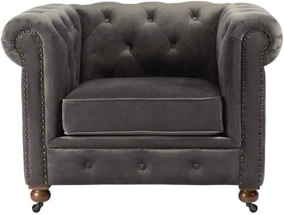 Gordon Tufted Chair Accent Chairs Living Room Furniture Decor