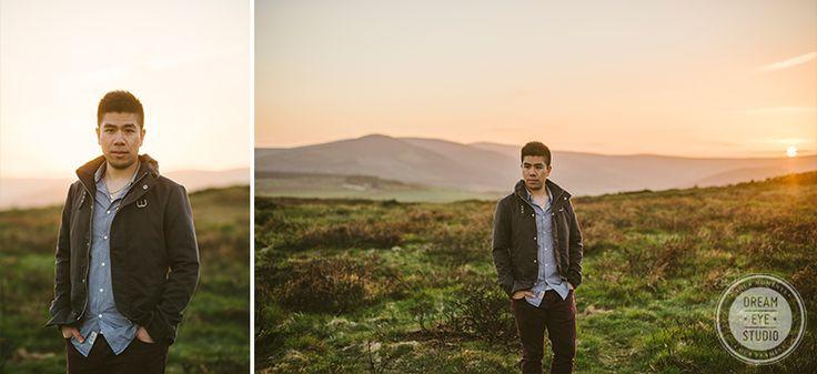 #ireland #sunset #boy #landscape #dreameyestudio