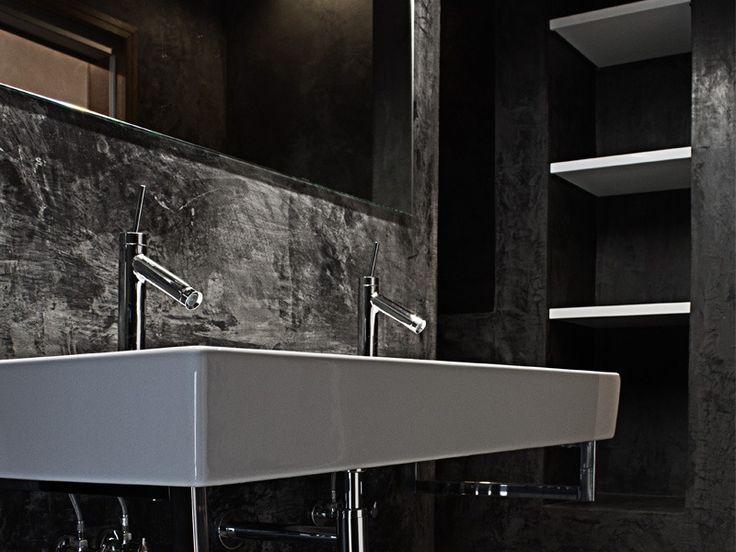 r novation poustouflante d 39 une maison du 18i me si cle salle de bains double lavabo. Black Bedroom Furniture Sets. Home Design Ideas