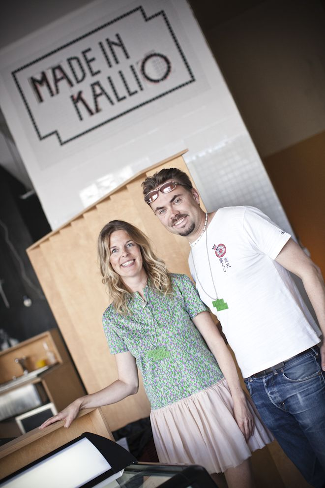 Made in Kallio - Café and Helsinki-based designers' shop+makerspace all in one.