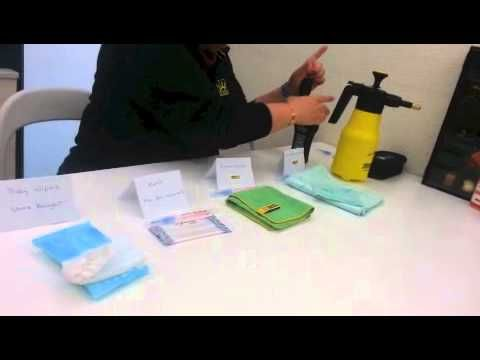 test results of ENJO products vs Antiseptic wipes & baby wipes.
