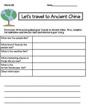 activities silk road china unit diagrams spelling ancient china