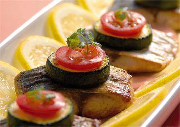 理研農産のレシピと小話ってことで!:白身魚のカレームニエルのレシピ(お魚メニュー)