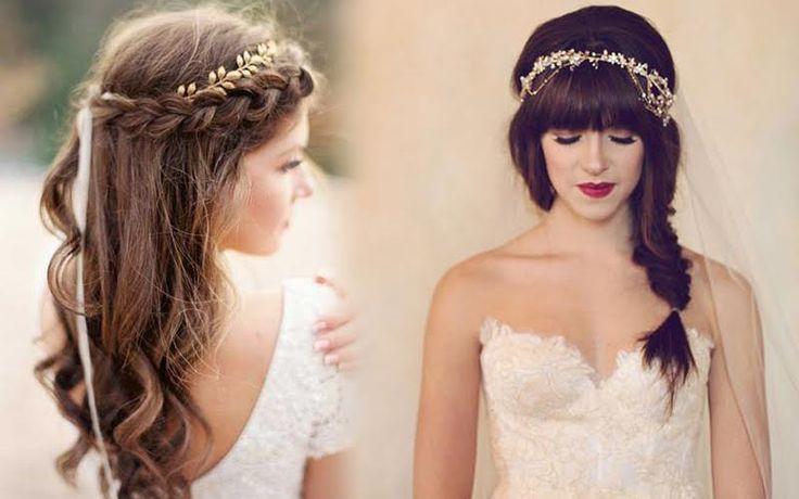 Gaya Kepang Rambut Modern untuk Hari Pernikahan