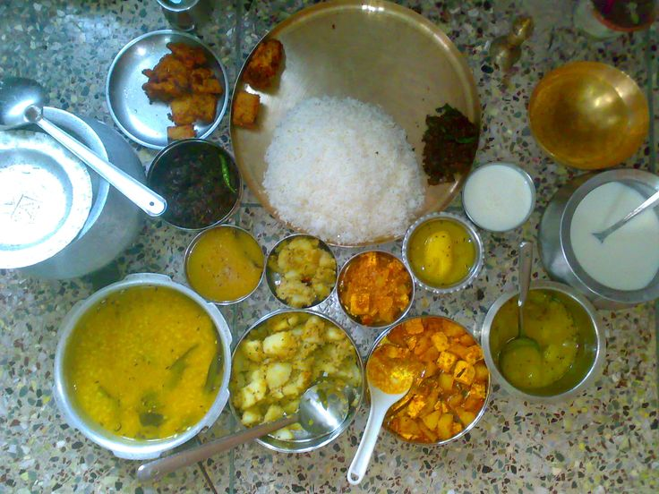 kolkata bengali thali (vage)