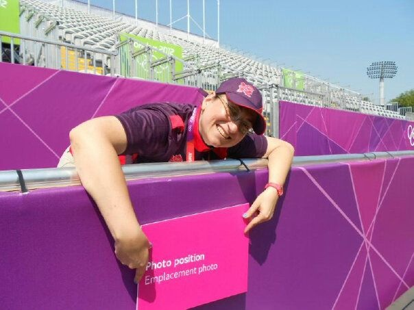 GamesMakers manning the photo positions at Lords Cricket Ground, Olympic Archery competition