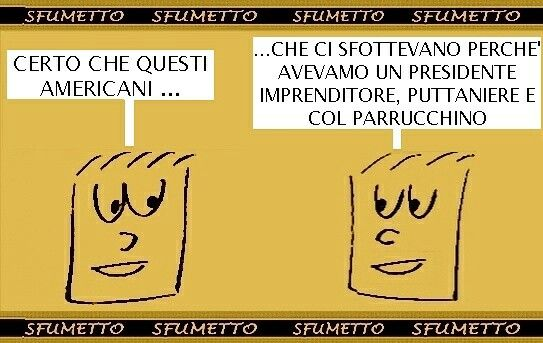 Elezioni...#barzellette #battute #vignette #umorismo #ridere #trump