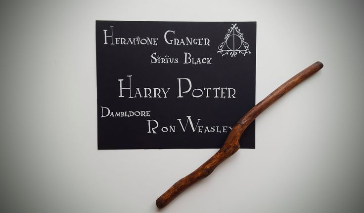 Harry Potter, #lettering