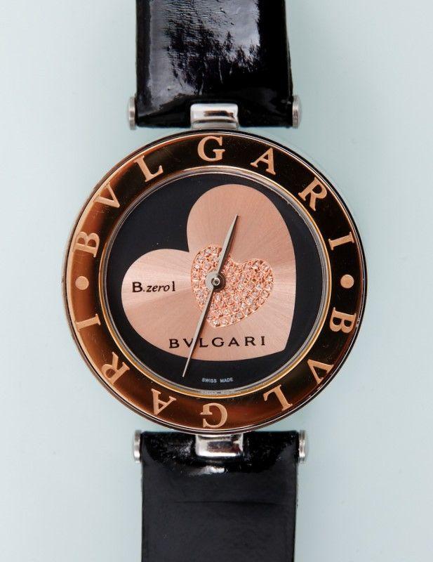 Часы Bvlgari B.Zero1 в золотистом корпусе