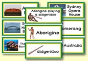 Australian notebooking pages, flashcards, etc. Free!