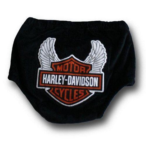 Harley-Davidson Baby Boy Diaper Cover Harley