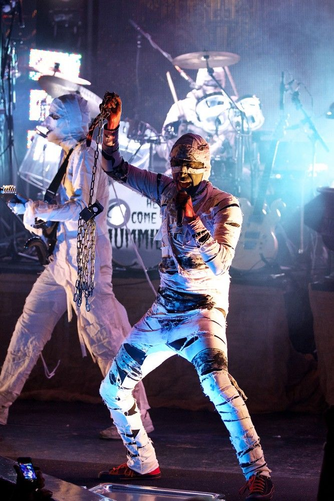 Here Come The Mummies   TROPICULT