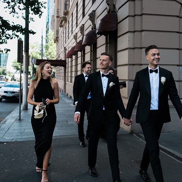 Wedding Day City Strolling.  www.mrtheodore.com.au