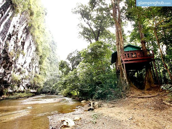 Tropical Jungle Tree House For Rent Southern Thailand