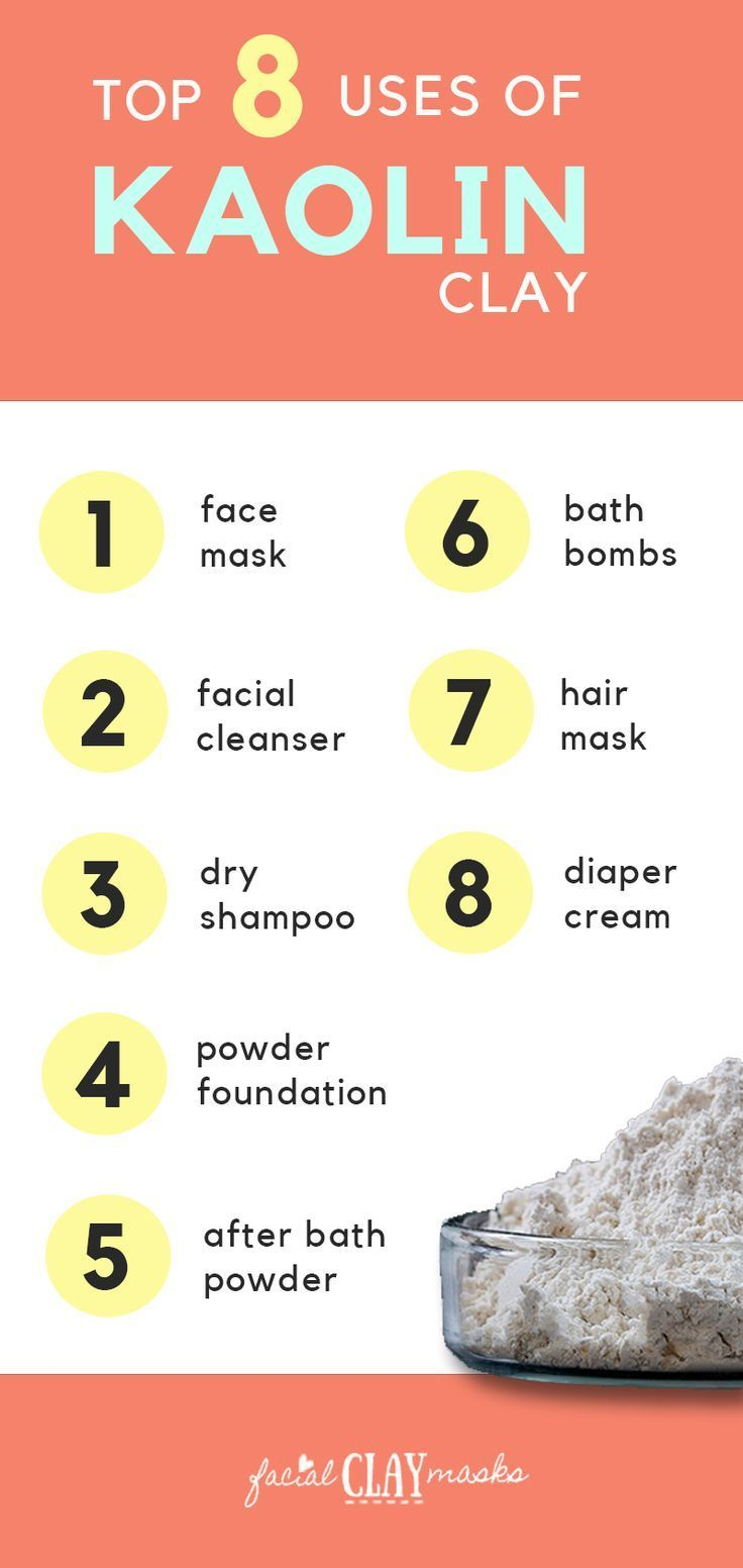 Benefits Of Kaolin Clay Everything You Need To Know About White Clay Kaolin Clay Kaolin Clay Benefits Dry Shampoo Powder