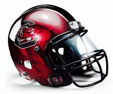 Awesome Football helmet for the USC Gamecocks!!!!