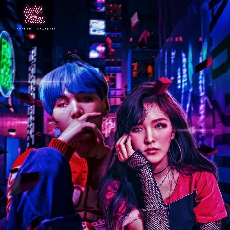 Lights & Chaos • Wenga Version p/s tagging @kokodaes for giving me the idea of this lol (im not sure if i did this right but idk) p/s2 hope you like this guyyyss!!! ❤ #wenga #wendy #suga #seungwan #yoongi #minyoongi #sonseungwan #bts #redvelvet #btsvelvet #bangtanvelvet #edit