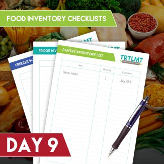 Merry TRTLMT Mixmas: Kitchen Inventory Printables