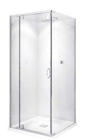 Bathrooms | Shower Systems | Cascade Shower 1m x 1m Square | Eagles Plumbing Supplies