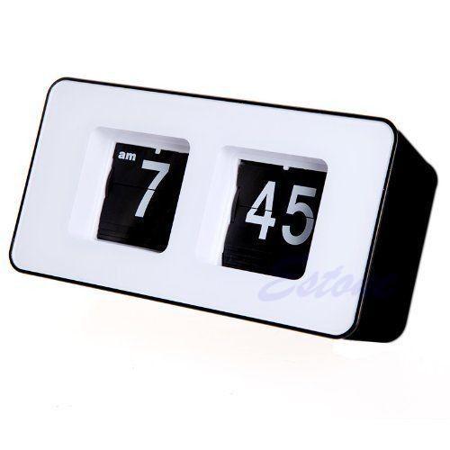 Retro-Auto-Flip-Clock-Classic-Stylish-Modern-Desk-Wall-Digital-Clock-Home-Decor