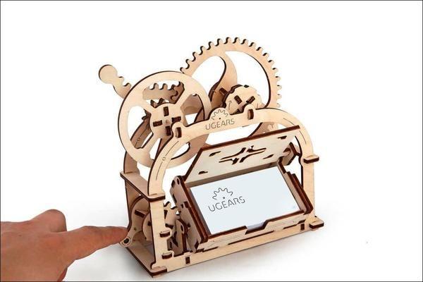 Treasure Box - zalige visitekaartjes houder!