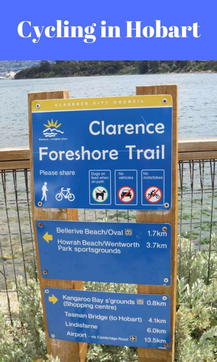 Cycling in Hobart: The Intercity Cycleway and the Clarence Foreshore Trail