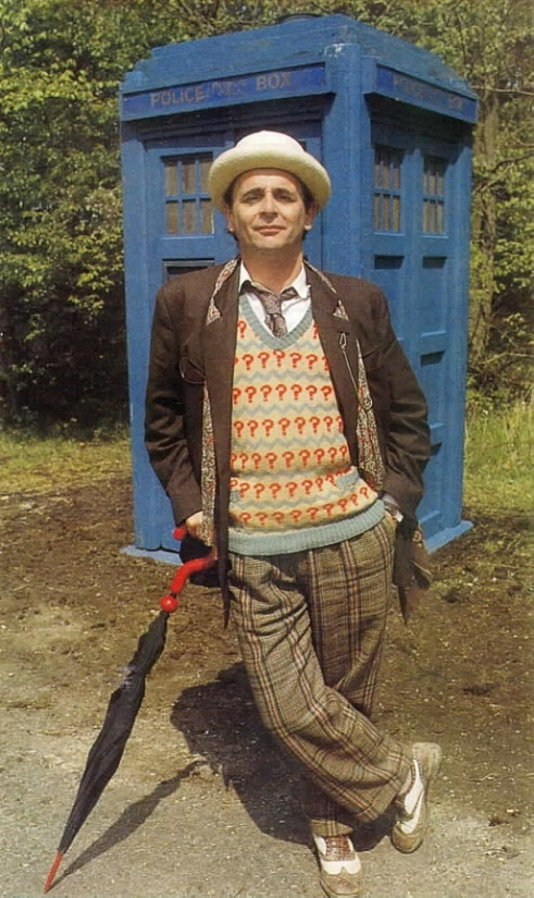 Sylvester McCoy: the seventh Doctor