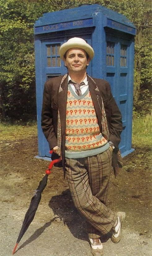Sylvester McCoy: the seventh Doctor