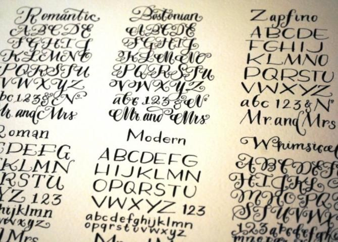 78 Best Images About Calligraphy On Pinterest Lettering