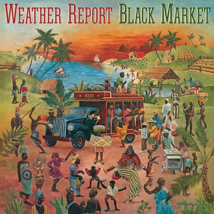 Weather Report Black Market on Limited Edition 180g LP Mastered by Joe Reagoso & Manufactured by R.T.I. Rarely has an individual player so radically transformed an already established band as Jaco Pas