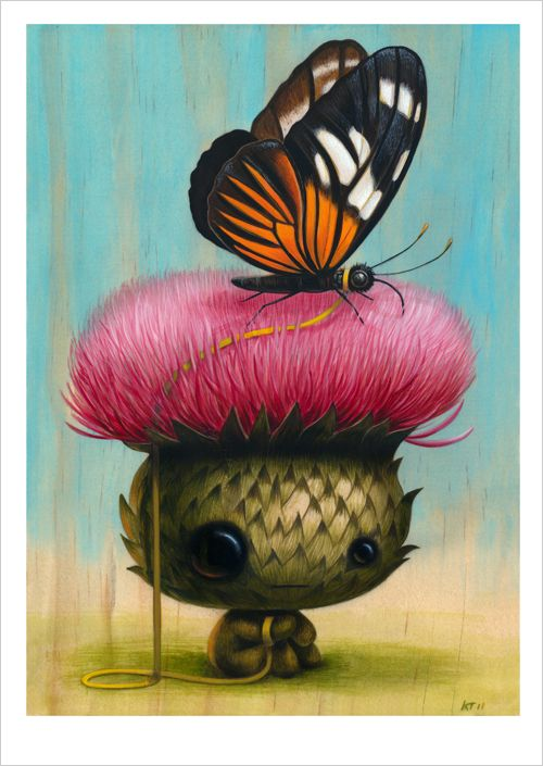 """Cuddly Rigor Mortis - Print - """"Mr. McPrickles"""" - Nucleus 