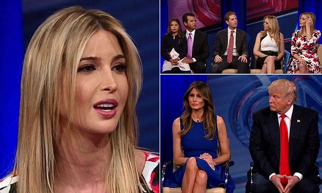 The billionaire's wife Melania, daughters Ivanka and Tiffany, and sons Eric and Donald Jr, answered an array of questions from Anderson Cooper, but were unwavering in their support for the billionaire.