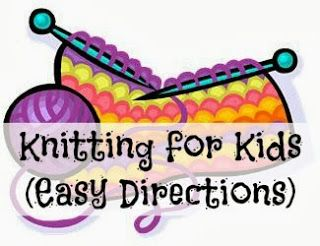 Knitting for Kids!   Head over to this too! https://youtube.com/user/qualityfreebies