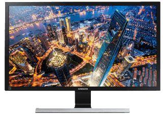 SAMSUNG U28E590D LED, Monitor mit 71.12 cm / 28 Zoll UHD 4K Display, 1 ms Reaktionszeit, Anschlüsse: 2x HDMI, 1x DisplayPort, 3.5 mm Klinkensteckereingang