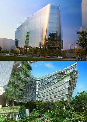 LAOROSA | DESIGN-JUNKY: Lucasfilm's Sandcrawler Office in Singapore: Offices, Lucasfilm S Sandcrawler, Laorosa, Architecture, Sustainable Living, Sandcrawler Office, Design Junky, Singapore