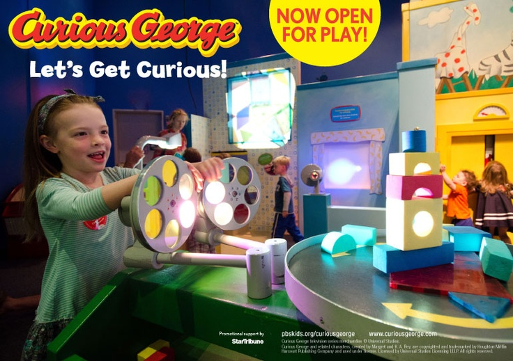 Image result for mn children's museum curious george