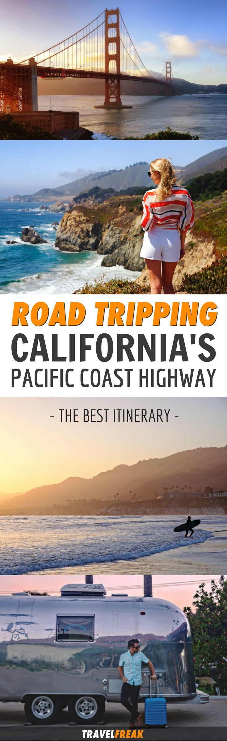 A Pacific Coast Highway road trip is the ultimate experience for those seeking adventure. Read this article for everything you need to know before starting your road trip to the Pacific Coast Highway. Ready to feel the wanderlust? Pacific Coast Highway Photography | Pacific Coast Highway Map| Pacific Coast Highway Stops #SantaMonica #Malibu #PacificCoastHighway via @travelfreak_
