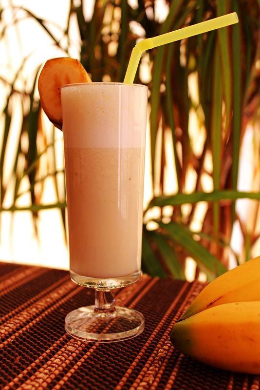 Cozinhadaduxa: Milkshake de Banana para Refrescar